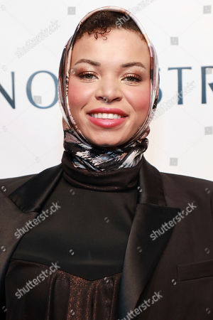 Blair Imani attends the 2019 Emery Awards at Cipriani Wall Street, in New York