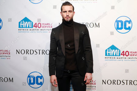Nico Tortorella attends the 2019 Emery Awards at Cipriani Wall Street, in New York