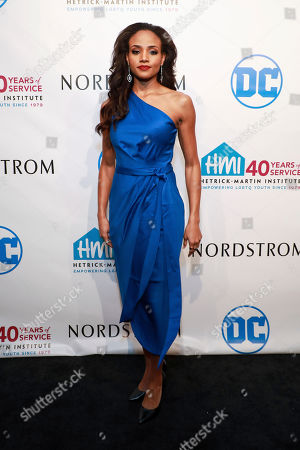 Stock Picture of Meagan Tandy attends the 2019 Emery Awards at Cipriani Wall Street, in New York