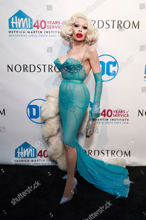 Amanda Lepore attends the 2019 Emery Awards at Cipriani Wall Street, in New York