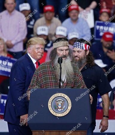 Editorial photo of US President Donald J. Trump holds campaign rally in Monroe, Louisiana, USA - 06 Nov 2019