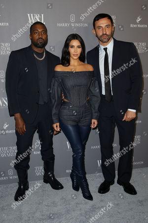 Kanye West, Kris Jenner, Riccardo Tisci