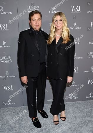 Anthony Cenname, Kristina O'Neill. WSJ. Magazine publisher Anthony Cenname, left, and editor-in-chief Kristina O'Neill attend the WSJ. Magazine 2019 Innovator Awards at the Museum of Modern Art, in New York