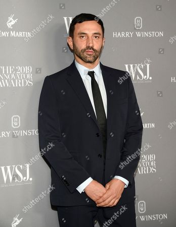 Riccardo Tisci attends the WSJ. Magazine 2019 Innovator Awards at the Museum of Modern Art, in New York