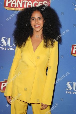 Editorial image of Summer: The Donna Summer Musical, Arrivals, Hollywood Pantages Theatre, Los Angeles, USA - 06 Nov 2019