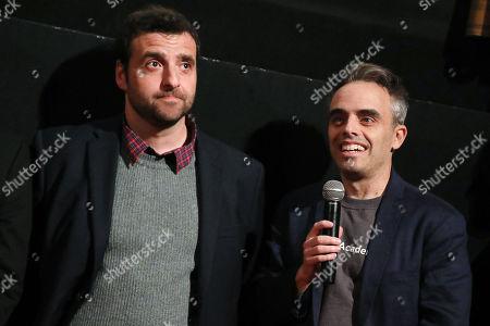 David Krumholtz and Joel Souza (Writer, Director)