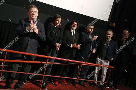 Alec Baldwin, Bridget Moynahan, Anjul Nigam, David Krumholtz, Joel Souza (Writer, Director) and Gregg Bello