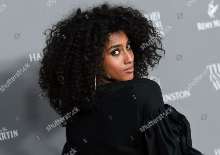 Imaan Hammam attends the WSJ. Magazine 2019 Innovator Awards at the Museum of Modern Art, in New York