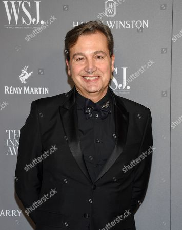 Stock Photo of WSJ. Magazine publisher Anthony Cenname attends the WSJ. Magazine 2019 Innovator Awards at the Museum of Modern Art, in New York