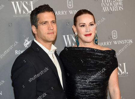 Panio Gianopoulos, Molly Ringwald. Actress Molly Ringwald, right, and husband Panio Gianopoulo attend the WSJ. Magazine 2019 Innovator Awards at the Museum of Modern Art, in New York