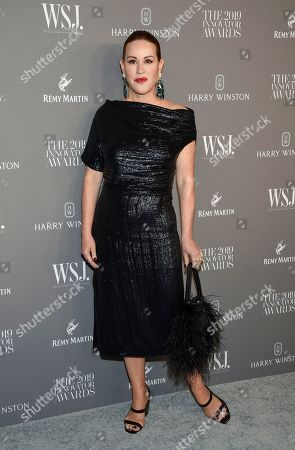 Molly Ringwald attends the WSJ. Magazine 2019 Innovator Awards at the Museum of Modern Art, in New York