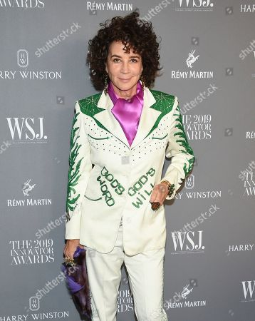 Lisa Eisner attends the WSJ. Magazine 2019 Innovator Awards at the Museum of Modern Art, in New York