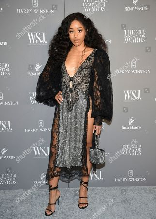 Kitty Cash attends the WSJ. Magazine 2019 Innovator Awards at the Museum of Modern Art, in New York