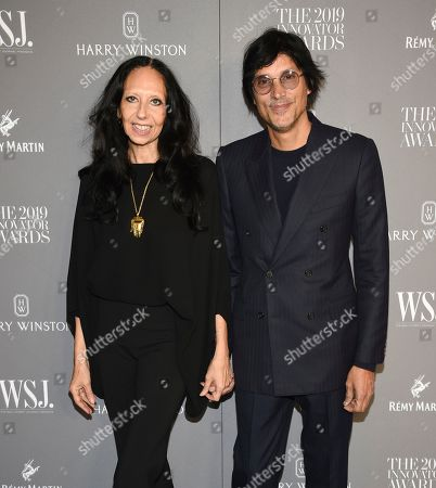 Inez Van Lamsweerde, Vinoodh Matadin. Fashion photographers Inez Van Lamsweerde, left, and Vinoodh Matadin attend the WSJ. Magazine 2019 Innovator Awards at the Museum of Modern Art, in New York