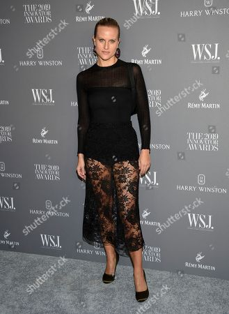 Olympia Scarry attends the WSJ. Magazine 2019 Innovator Awards at the Museum of Modern Art, in New York