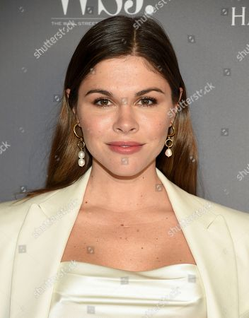 Stock Image of Emily Weiss attends the WSJ. Magazine 2019 Innovator Awards at the Museum of Modern Art, in New York
