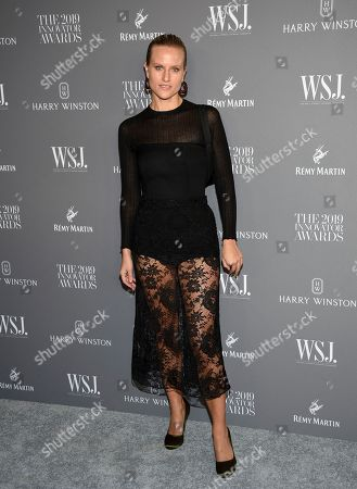 Stock Photo of Olympia Scarry attends the WSJ. Magazine 2019 Innovator Awards at the Museum of Modern Art, in New York