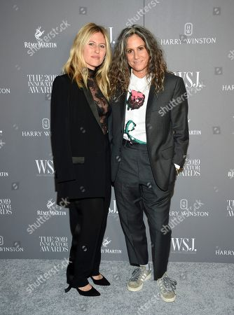 Ali Bird, Cass Bird. Artist Cass Bird, right, and wife Ali Bird attend the WSJ. Magazine 2019 Innovator Awards at the Museum of Modern Art, in New York