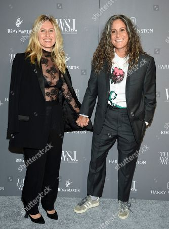Stock Picture of Ali Bird, Cass Bird. Artist Cass Bird, right, and wife Ali Bird attend the WSJ. Magazine 2019 Innovator Awards at the Museum of Modern Art, in New York