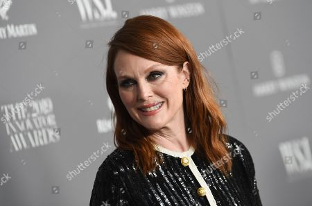 Julianne Moore attends the WSJ. Magazine 2019 Innovator Awards at the Museum of Modern Art, in New York