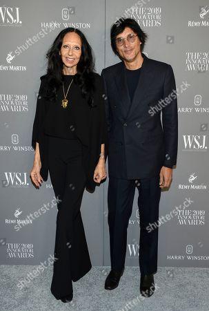 Inez Van Lamsweerde, Vinoodh Matadin. Fashion photographers Inez Van Lamsweerde, left, and Vinoodh Matadin attend the WSJ. Magazine 2019 Innovator Awards at the Museum of Modern Art, in New York