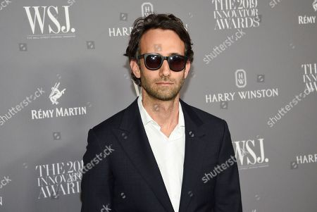 Alex Israel attends the WSJ. Magazine 2019 Innovator Awards at the Museum of Modern Art, in New York