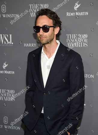 Stock Picture of Alex Israel attends the WSJ. Magazine 2019 Innovator Awards at the Museum of Modern Art, in New York