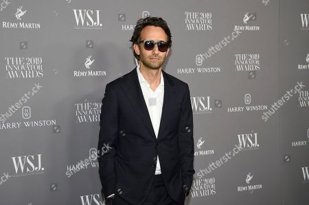 Stock Image of Alex Israel attends the WSJ. Magazine 2019 Innovator Awards at the Museum of Modern Art, in New York