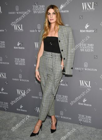 Bianca Brandolini d' Adda attends the WSJ. Magazine 2019 Innovator Awards at the Museum of Modern Art, in New York
