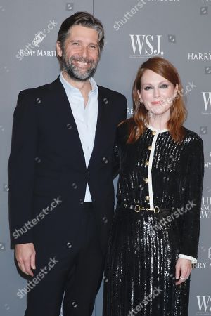 Stock Picture of Julianne Moore and Bart Freundlich