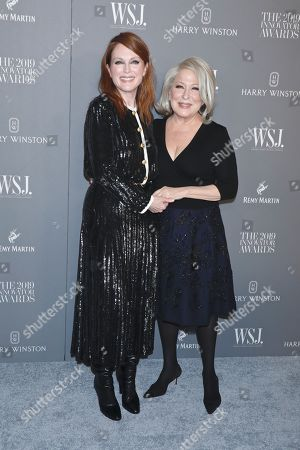 Julianne Moore and Bette Midler