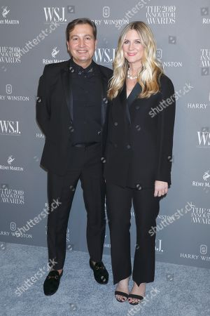Stock Picture of Anthony Cenname and Kristina O'Neill