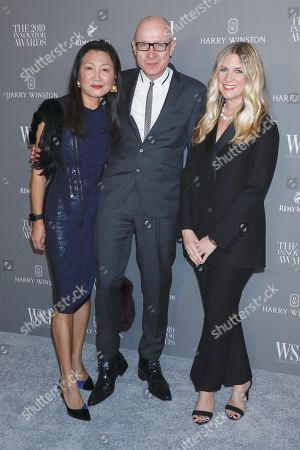 Stock Picture of Wang Ping, Robert Thomson and Kristina O'Neill