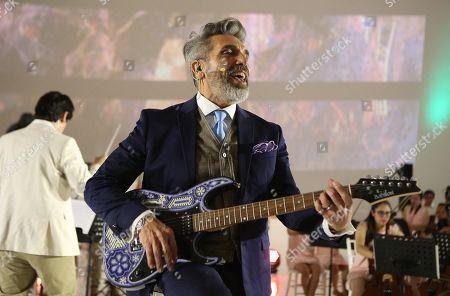 Editorial photo of Diego Verdaguer presents album in Mexico, Mexico City - 06 Nov 2019