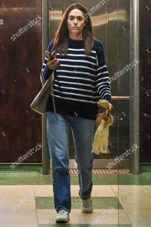 Editorial photo of Emmy Rossum out and about, Los Angeles, USA - 06 Nov 2019