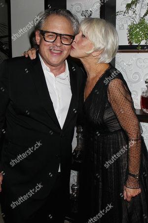 Bill Condon and Helen Mirren
