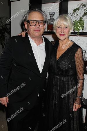 Stock Photo of Bill Condon and Helen Mirren