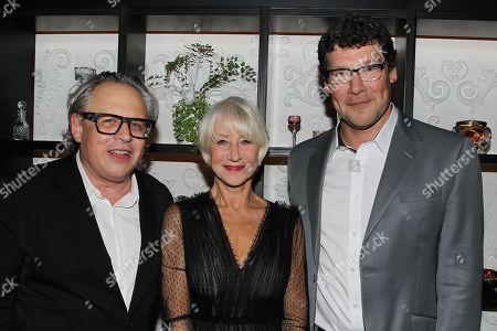 Stock Picture of Bill Condon, Helen Mirren and Richard Brener