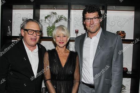 Bill Condon, Helen Mirren and Richard Brener