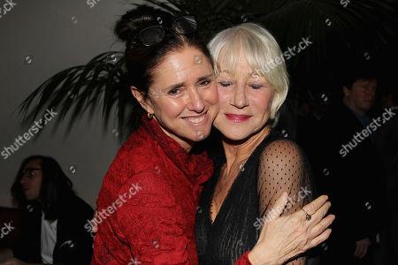 Julie Taymor and Helen Mirren