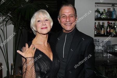 Stock Image of Helen Mirren and Tony Danza