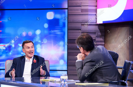 Editorial image of 'Peston' TV show, Series 3, Episode 11, London, UK - 06 Nov 2019