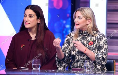 Luciana Berger and Alexandra Phillips