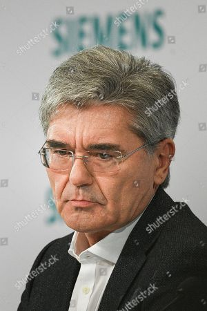 Siemens CEO Joe Kaeser looks on during the Siemens annual press conference in Munich, Germany, 07 November 2019.