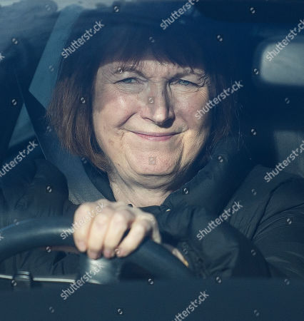 Labour MP Harriet Harman is seen arriving at The Houses of Parliament in Westminster