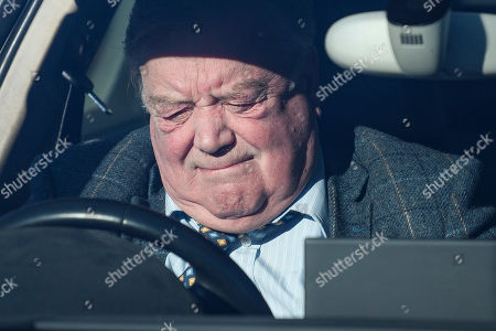Former Conservative MP Kenneth Clarke is seen arriving at The Houses of Parliament in Westminster