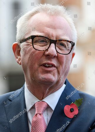 Former Labour MP Ian Austin speaking at a press conference in Westminster, London following an interview in which he called for people to vote for the Conservative party in order to keep Jeremy Corbyn out of Downing Street. A general election has been called on December 12th in an attempt to get a Brexit agreement through parliament.