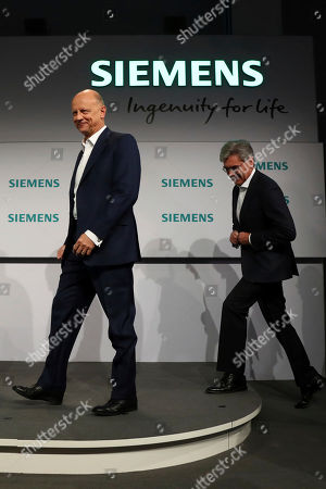 Editorial picture of Siemens Earns, Munich, Germany - 07 Nov 2019