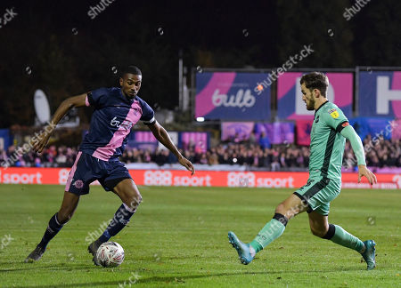 Editorial picture of Dulwich Hamlet v Carlisle United, Emirates FA Cup First Round, Football, Champion Hill, London, UK - 08 Nov 2019