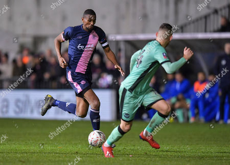 Editorial photo of Dulwich Hamlet v Carlisle United, Emirates FA Cup First Round, Football, Champion Hill, London, UK - 08 Nov 2019